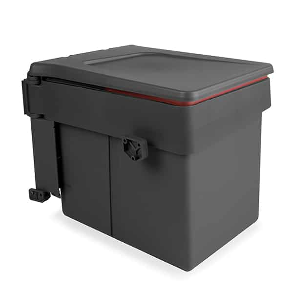 Κάδος απορριμμάτων ανθρακι - Anthracite waste bin