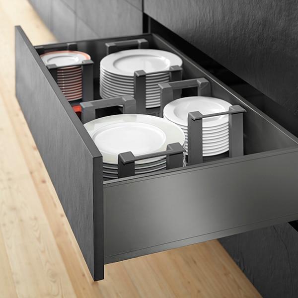 Συρτάρι εξωτερικό legrabox γκρι 17cm - Legrabox grey drawer 17